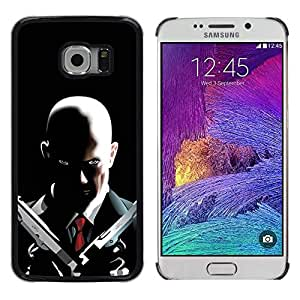 Stuss Case / Funda Carcasa protectora - Hitman 47 - Samsung Galaxy S6 EDGE