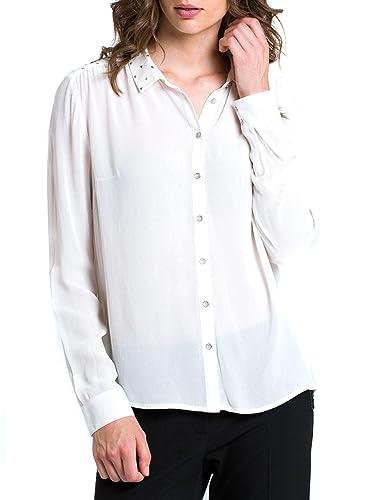 Naf Naf Camisa HMU1 Blanco