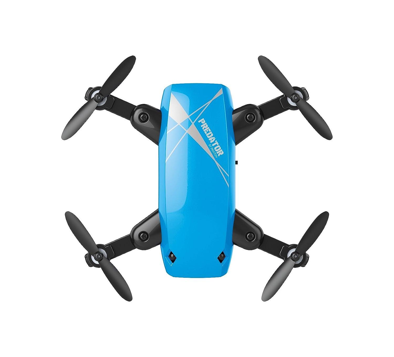 PRIXTON- Drone DR200 Selfie Predator, Cámara Wi-Fi, Color Azul ...