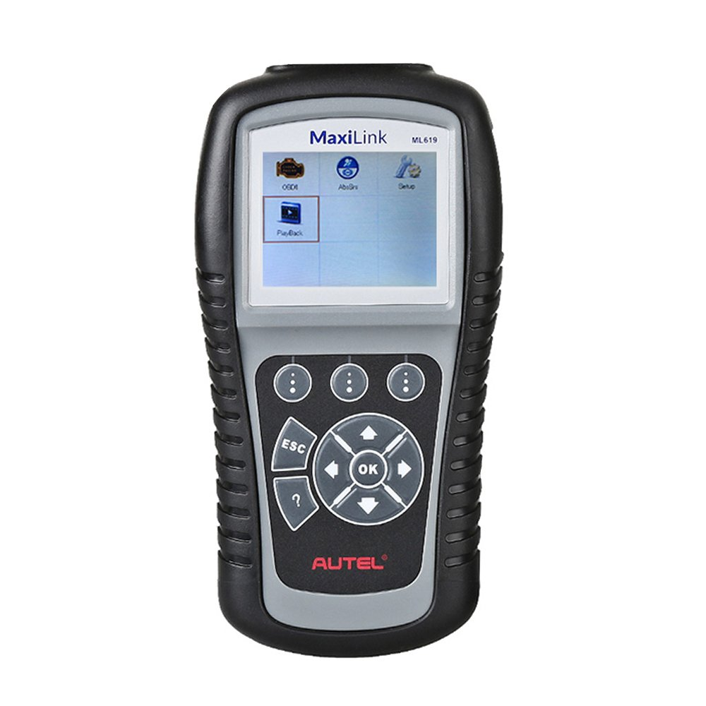 Autel ABS SRS Auto Code Reader MaxiLink ML619 (Same as AL619 ) with Full OBD2 Diagnostic Functions and Turns off Check Engine Light (MIL)