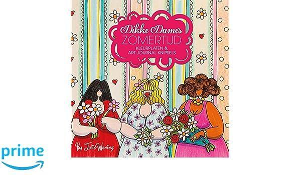 Dikke Dames zomertijd: kleurplaten & art journal knipsels ...