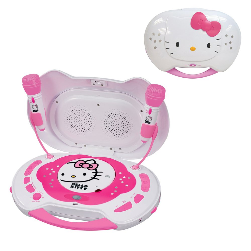 JENKT2003CA - HELLO KITTY KT2003CA Karaoke System with CD Player by Hello Kitty (Image #1)