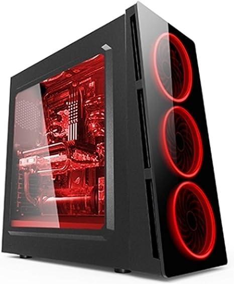 ZONE EVIL Caja Torre Gaming ZE 906 con LED ZE-906R - Caja de ...