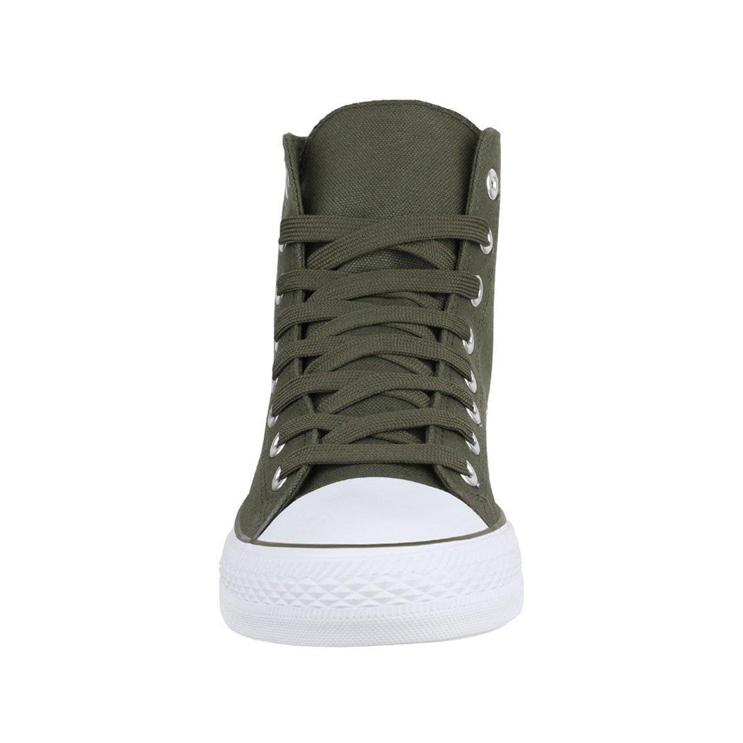 Elara High Unisex Sneaker | Damen Herren | High Elara Top | Chunkyrayan DunkelGrün e8adfc