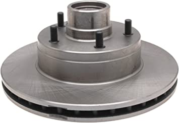 ACDelco 18A1623A Advantage Non-Coated Front Disc Brake Rotor and Hub Assembly