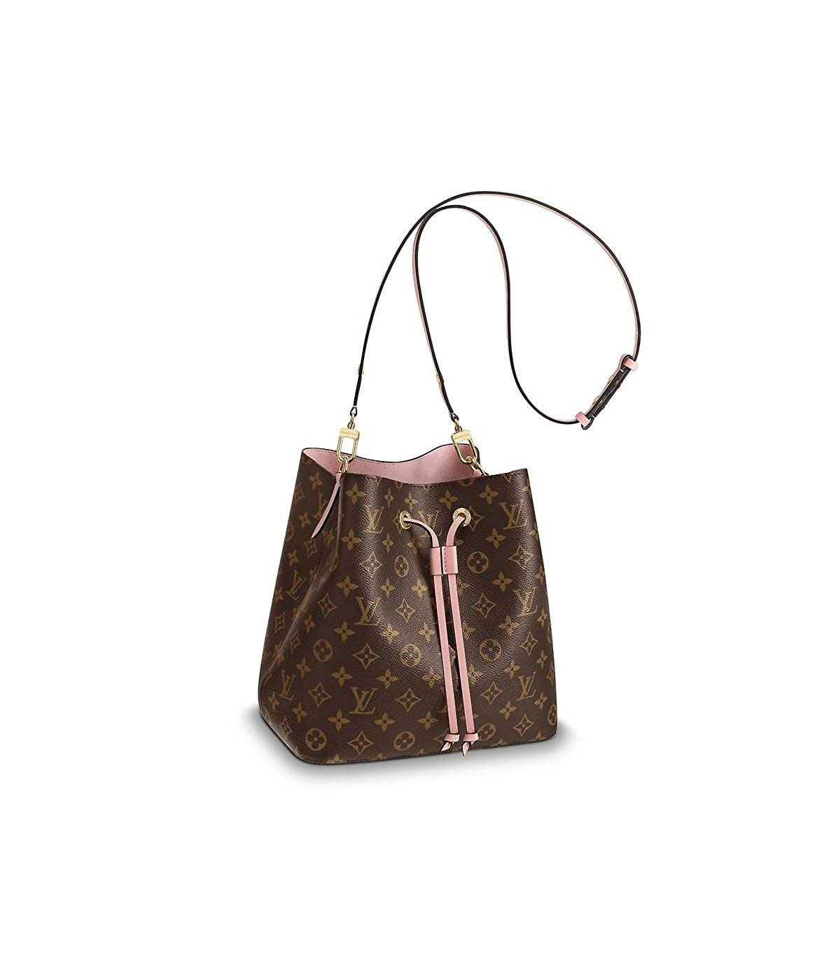 c9438441e1b Louis Vuitton NeoNoe Monogram Canvas Rose Poudre M44022  Handbags   Amazon.com