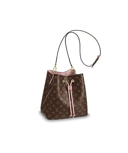 3e6a5ad6b48f Louis Vuitton NeoNoe Monogram Canvas Rose Poudre M44022: Handbags:  Amazon.com