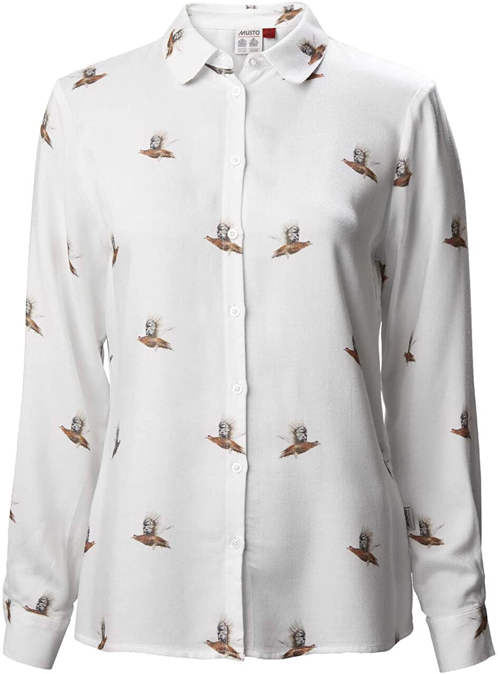 Musto Camisa con patrón de Campo para Mujer: Amazon.es: Ropa y accesorios