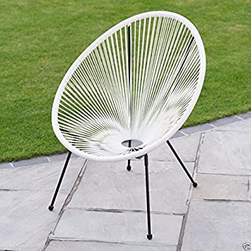 Bon Scotrade New Funky Modern Kids String Moon Chair With Steel Tube Frame Legs  Outdoor Use