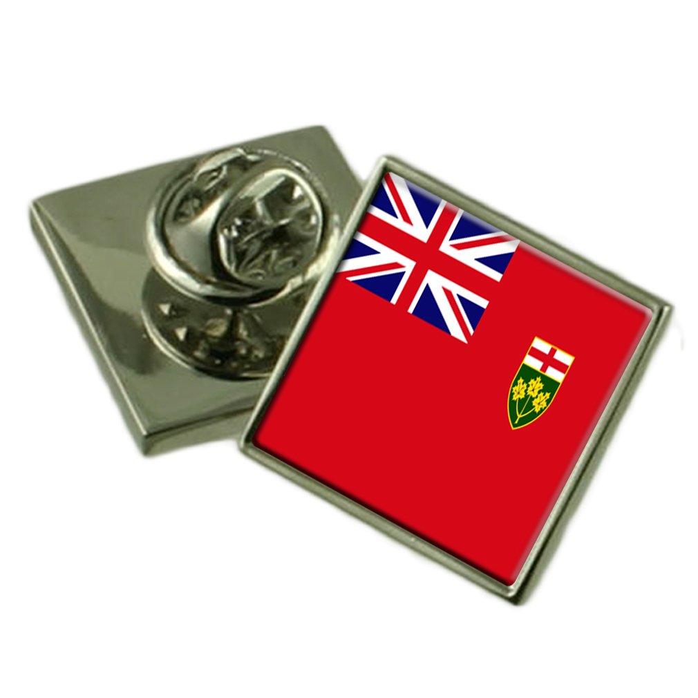 【楽天スーパーセール】 オンタリオ州の旗ラペルピンバッジシルバー B01N4PXLKR 925 925 製 製 B01N4PXLKR, ソフマップ:5ce30ac9 --- deliveryunion.org