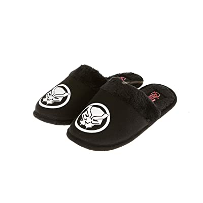 Marvel Black Panther Mens Slippers - Officially Licensed Black Panther Slippers | Slippers