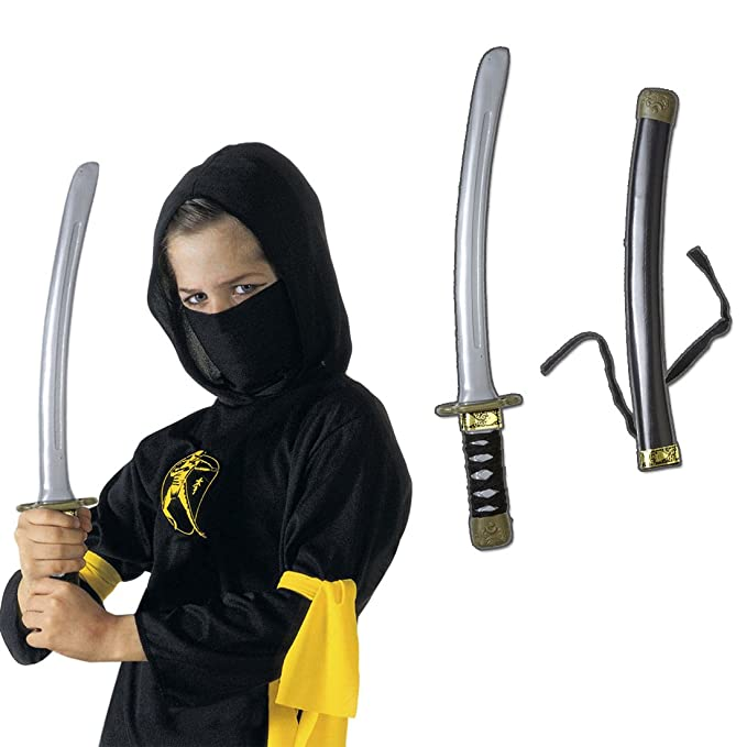 Samurai Espada Ninja Espada con vaina 40 cm Katana Espada ...