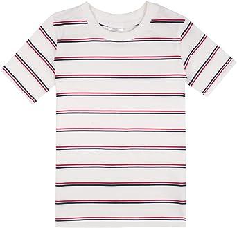 Spring&Gege - Camiseta de manga corta para niño con cuello redondo ...