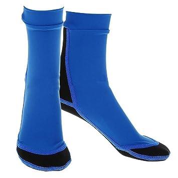 zhouba 1 par natación buceo surf calcetines antideslizante largo flexible descalzo agua piel para playa piscina: Amazon.es: Deportes y aire libre