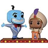 Funko Pop Disney: Movie Moment: Aladdin Genie Collectible Figure, Multicolor