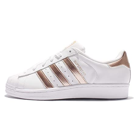 info for 909c0 8668a adidas Women s Superstar BB1428 Trainers, White Gold, Size 7  Amazon.co.uk   Sports   Outdoors