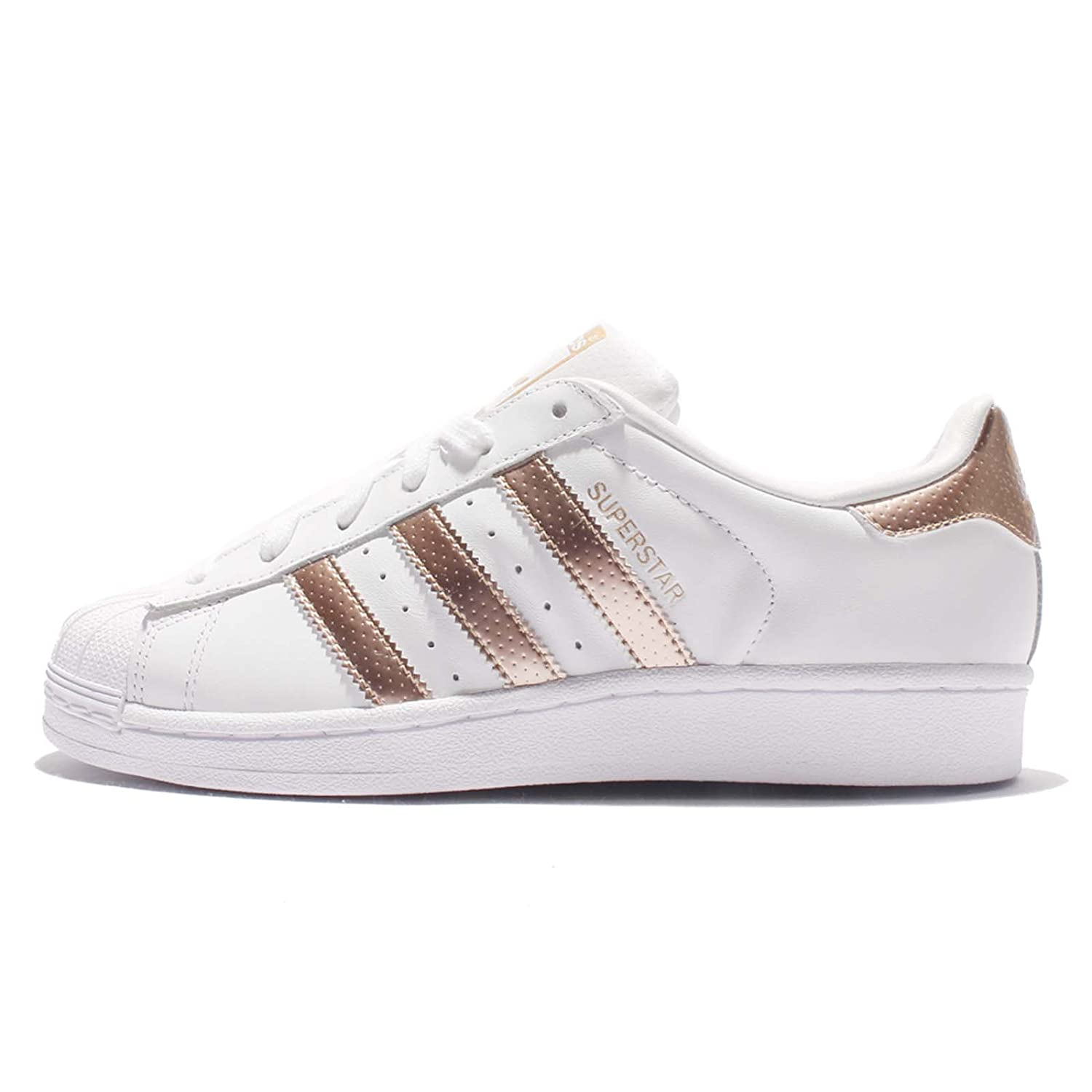 Adidas Superstar Women White Rose Gold BB1428 UK 6: Amazon.co.uk: Shoes \u0026  Bags