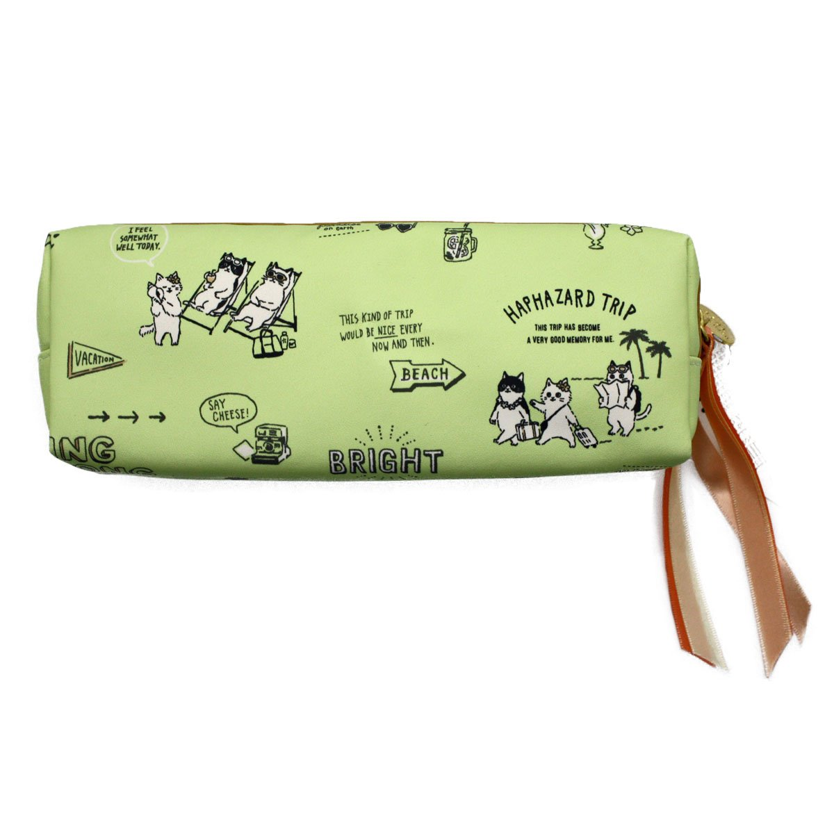 """Mind Wave Kawaii pencil case/pouch popular for japanese school girls that produced by famous company in japan. Vacation""""."""