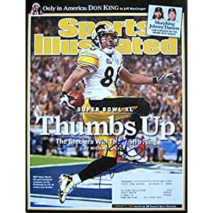 Hines Ward STEELERS autographed Sports Illustrated magazine 2/13/06