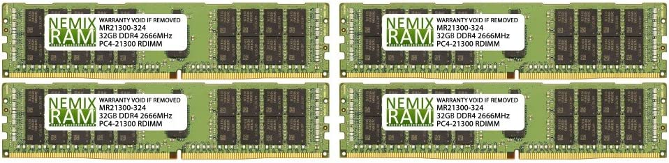 128GB 4X32GB NEMIX RAM Memory for Apple iMac Pro 27-inch Late 2017