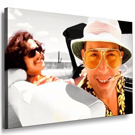 b8977e713cde Boikal Canvas Picture Fear and Loathing In Las Vegas Film Canvas Art Print  Framed Wall Art, 60 x 40 cm: Amazon.co.uk: Kitchen & Home