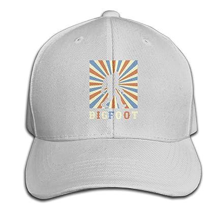 Bigfoot Vintage Sasquatch Adjustable Baseball Caps Unstructured Dad Hat  100% Cotton Ash 29b29fe5340