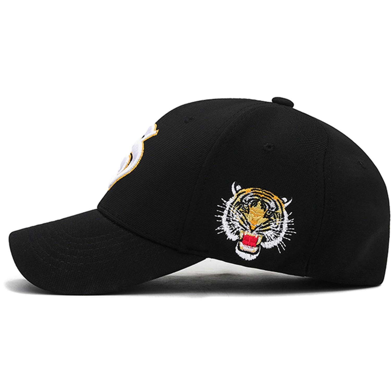 2019 3D Embroidery Gorras Animal Cap Snapback Hip Hop Fashion Baseball Caps Dad Hat, Black at Amazon Mens Clothing store: