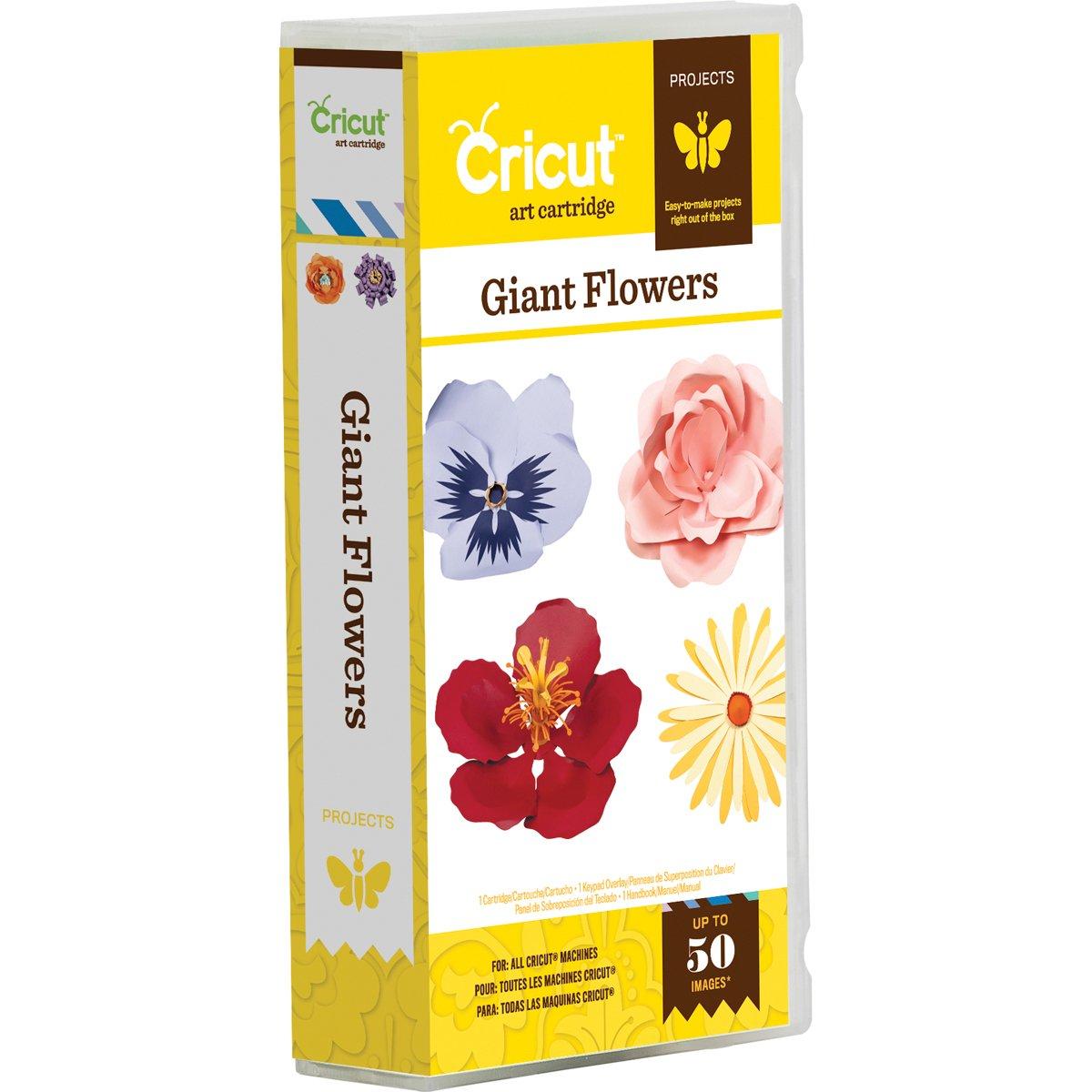 Cricut 2001194 Giant Flowers Cartridge