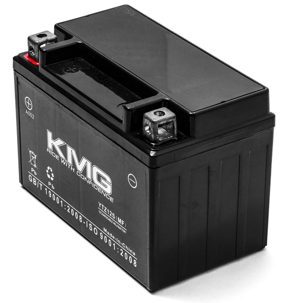 KMG BMW S1000RR DWA 2009-2011 Replacement Battery YTZ12S Sealed Maintenace Free Battery High Performance 12V SMF OEM Replacement Maintenance Free Powersport Motorcycle Scooter