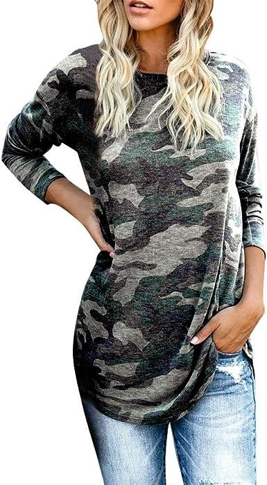 Double Hooded Sweatshirt Womens Camo,Women Long Sleeve Pullover Blouse Open Front Jacket Coat Long Outerwear