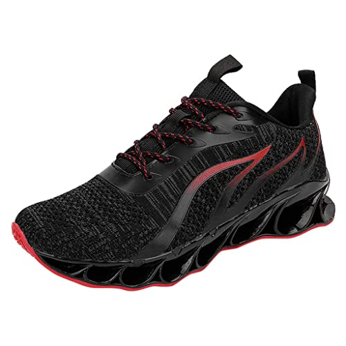 4069041cd759a Amazon.com | Mosunx Athletic Men's Cushioning Breathable Sport Shoes ...