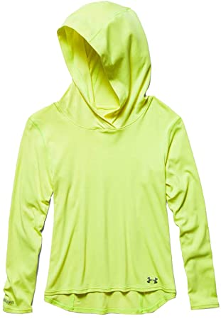 732e72464a Under Armour Women's UA Iso-Chill Days Hoodie Medium X-Ray: Amazon ...
