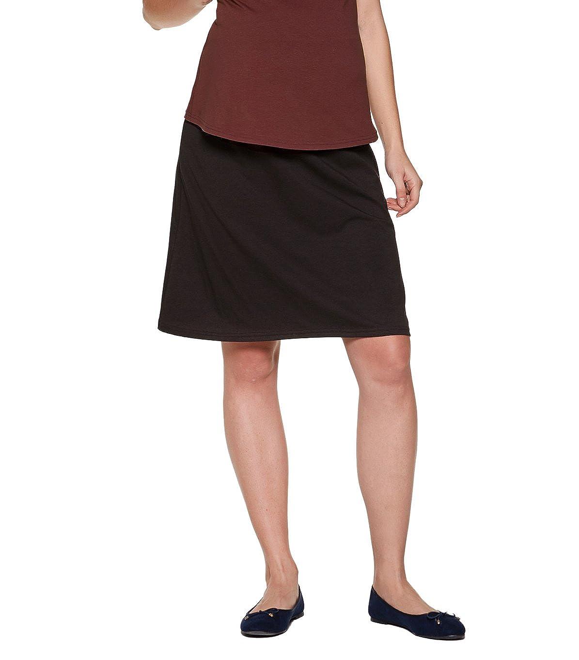 Modell BASIC Mama Umstandsrock aus Baumwolle Be