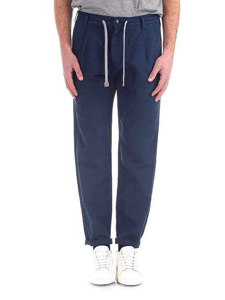 Eleventy 979PA0303PAN270 Pantalones de Traje Hombre: Amazon ...