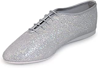Roch Valley Hologramme Chaussures de Jazz pour Femme Argenté Taille L