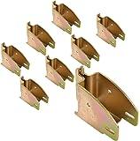 E Track 1845 Beam Socket for Cargo Control, Shelf Brackets, Lofts Inside of Trailers - 8 Pack