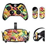 MightySkins Skin For Oculus Rift CV1 – Sour Candy | Protective, Durable, and Unique Vinyl Decal wrap cover | Easy To Apply, Remove, and Change Styles | Made in the USA