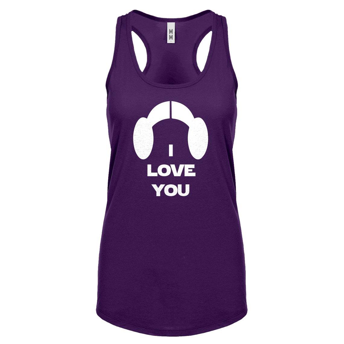Indica Plateau Womens I Love You Racerback Tank Top