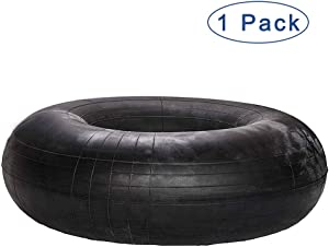 HIFROM Replacement Premium 20x8.00-8, 20x8-8, 20x10.00-8, 20x10-8 Utility Tire Inner Tubes with TR13 Straight Valve Stem for Mowers Go Karts Wheelbarrows Tractors ATVs ETC - 1 Pack