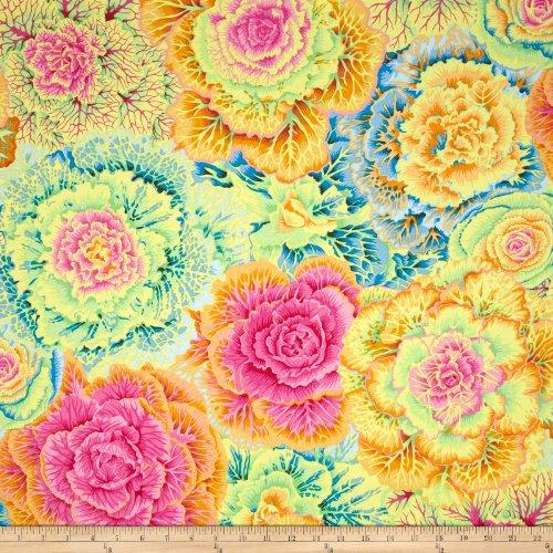 FreeSpirit Fabrics Kaffe Fassett Brassica Yellow Fabric By The Yard, Yellow ()