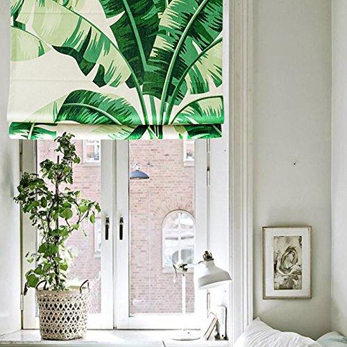 [KARUILU home Quick Fix Washable Roman Window Shades Flat Fold , Custom any width from 14