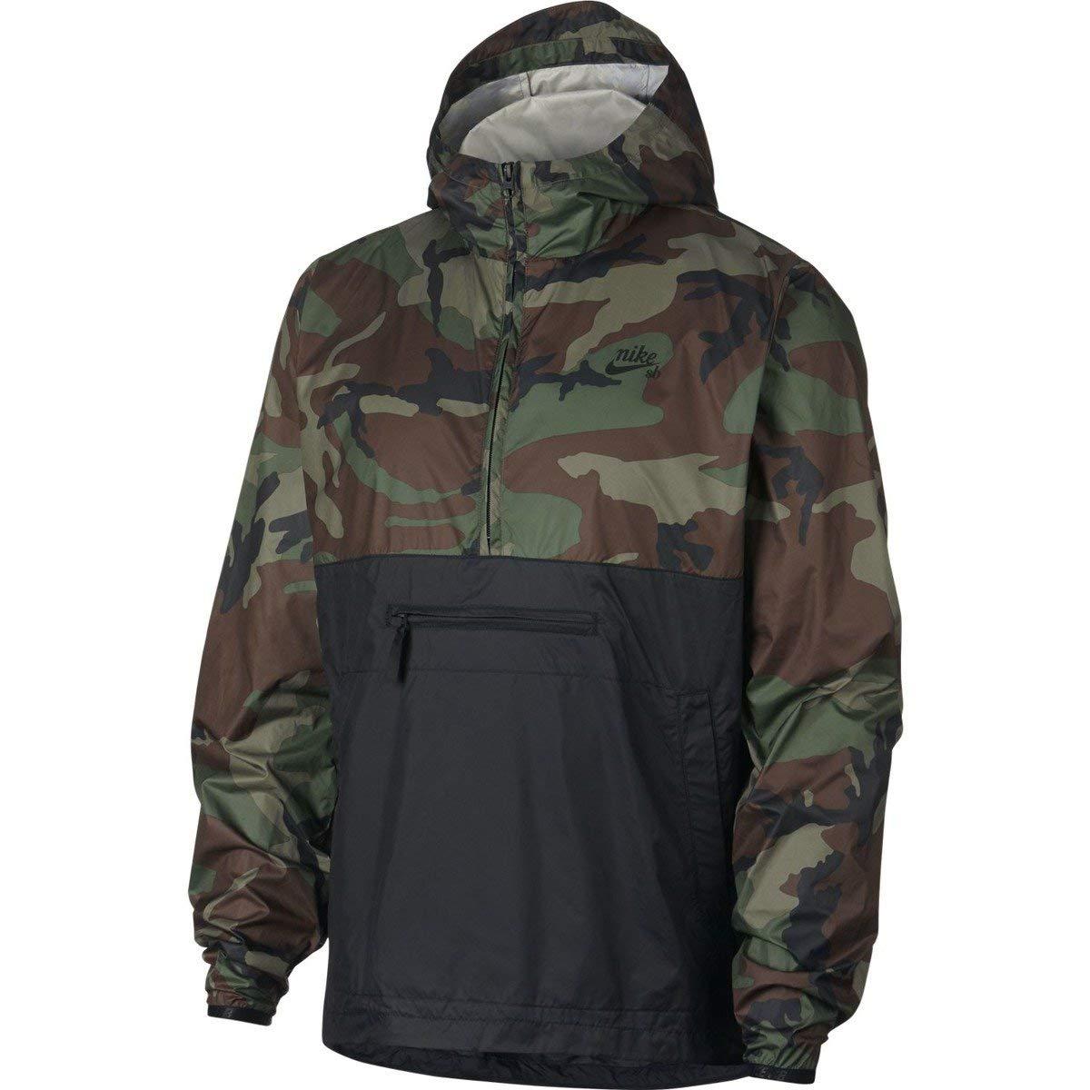 Nike SB Anorak Jacket Camo Chaqueta, Hombre