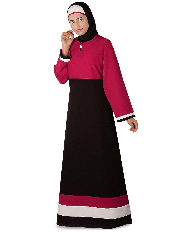 MyBatua Islamic Attire Yasmin Border Abaya Burka Hijab