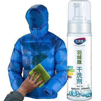 Dapei Down Jacket Spray de limpieza en seco Espuma sin ...