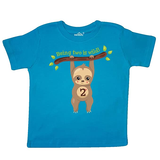 inktastic Baby Sloth Toddler T-Shirt