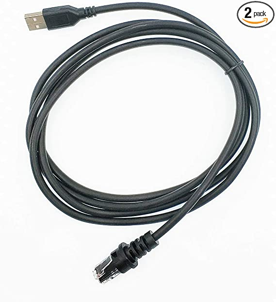 3m TIANLUAN 9FT RS232 Serial Cable for Honeywell MS7120 MS9540