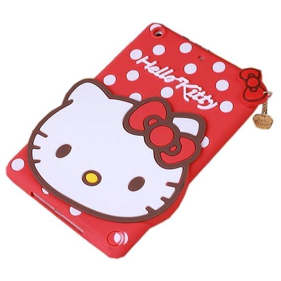 90e069f26 Amazon.com: iPad Mini Case,Phenix-Color 3D Cute Soft Silicone [Drop ...