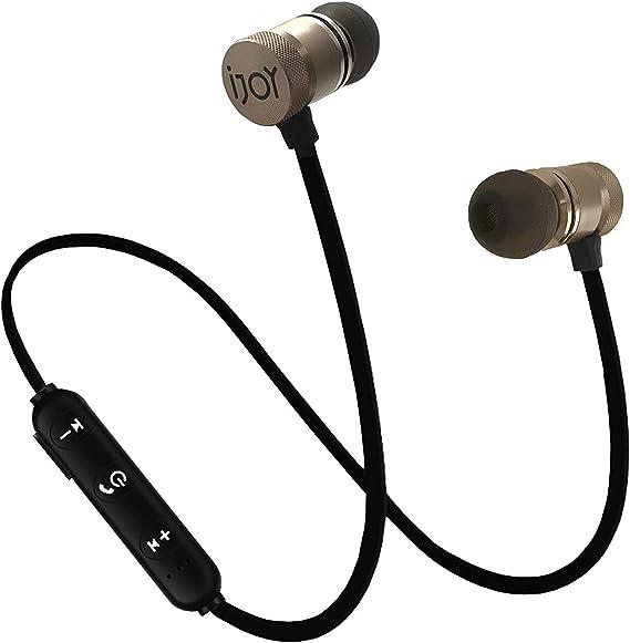 IJOY Bluetooth Wireless Sport Secure Headphones Earbuds