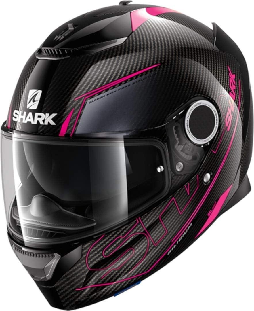 Shark Motorradhelm Spartan Carbon 1.2 Silicium DVA