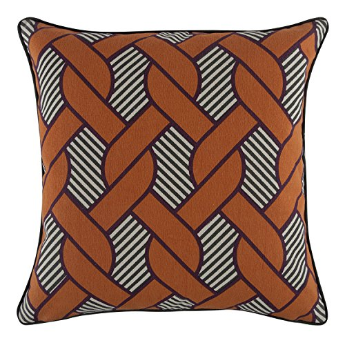 Orange Pillow Paul Thomas (Thomas Paul Knot Pillow, 18-Inch, Tangerine)